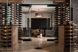wine cellar furniture. Charlevoix Cellar Showcases Transitional Design Wine Furniture