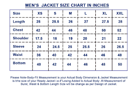 Wilsons Leather Size Chart Size Guide