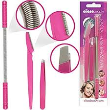 hair removal threading tool set by eliesebeauty removes lip chin side burn cheek hair without shaving lasers or waxing