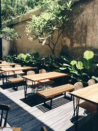 contemporary outdoor cafe table and chairs. outdoor seats at pudak restaurant contemporary cafe table and chairs