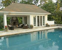 open pool house. Open Pool House L