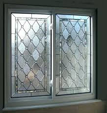 decorative glass panels windows attractive intended for bathroom opaque and stained decor 7 doors