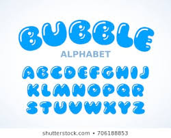 Bubble Letters Font 500 Bubble Font Pictures Royalty Free Images Stock Photos And