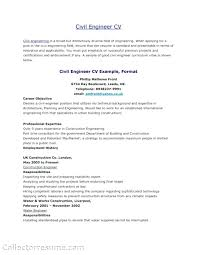 Resume Civil Engineering New Examples Work Cover Letter