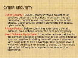 cybercrime ppt 13 advantages of cyber security