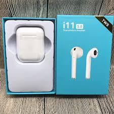 Tai Nghe Bluetooth Bản cảm ứng Không Dây i11 TWS - Hàng chính hãng - Tặng  Emoji ngộ nghĩnh - Tai nghe bluetooth đàm thoại Thương hiệu OEM