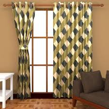 Small Picture home decor Polyester Door Curtains Set of 2