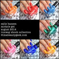massive work cool colors. Review Of Sally Hansen\u0027s Miracle Gel! Anything You Need To Know, You\u0027ll Find It Here!   Hansen Gel + Color Collection Swatches, Massive Work Cool Colors