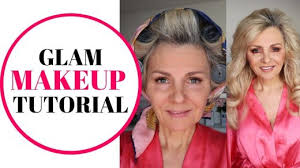 makeup tutorial by 57 year old simple glam how to do makeup demo