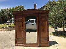 antique english burled walnut wardrobe armoire cabinet c 1800s one of a kind antique armoires antique wardrobes english