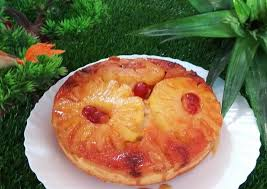 Easiest Way to Prepare Super Quick Homemade Eggless pineapple upside down  cake   recipeexcelent