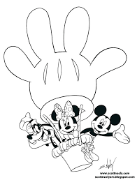 mickey mouse characters coloring pages mickey mouse clubhouse printable coloring sheets and friends pages mickey mouse