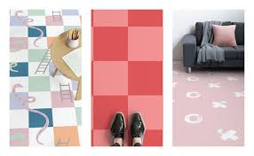 this vinyl flooring collection reimagines classic childhood with a contemporary twist