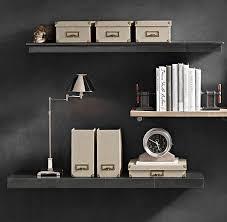 wall shelves office. reclaimed wood wall shelf shelving ideas for over the desk shelves office m