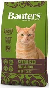 <b>Сухой корм</b> для кошек <b>Banters Sterilized</b> рыба с рисом | ЗооПассаж