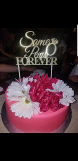 Bachelorette Party Cake Topper