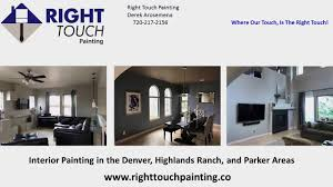right touch painting interior painting denver highlands ranch parker colorado