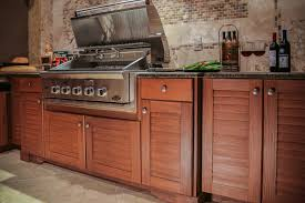 Teak Outdoor Kitchen Cabinets - Cypress kitchen cabinets