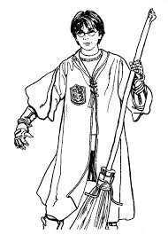 Harry Potter Characters Coloring Pages At Getdrawingscom Free For