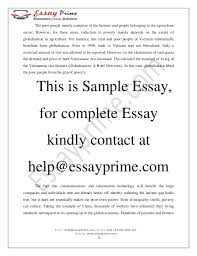 globalization and justice essay sample  4 the poor people