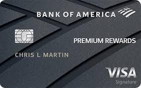 bank of america premium rewards credit