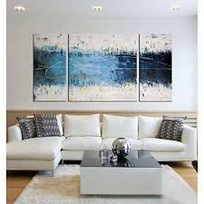 image is loading canvas wall art abstract hand painting 3 piece  on modern canvas wall art abstract with canvas wall art abstract hand painting 3 piece modern living room