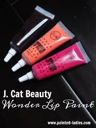 j cat beauty wonder lip paint