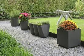 outdoor urns modern