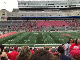 Ohio St Football Stadium Seating Chart Ohio Stadium Section 24a Home Of Ohio State Buckeyes