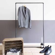 Kleiderständer Industrial Design Aus Stahlrohr Nach Maß Kaufen