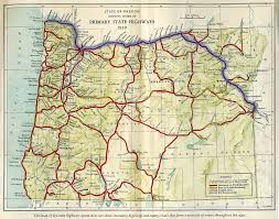 oregon secretary of state route map