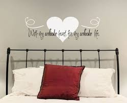 wall saying decals for bedroom