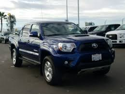 Used pickup trucks blue exterior for Sale