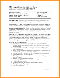 Shipping And Receiving Resume 100 sample resume for shipping and receiving azzurra castle grenada 23