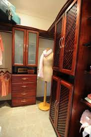 solid wood closets at pasadena showcase house