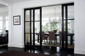 modern glass sliding doors interior