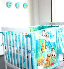 teddy bear crib bedding set baby boy crib sets new embroidered ocean animals baby crib bedding teddy bear