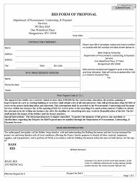 Sample Bid Proposal Template 005 Contractor Proposal Template Pdf Construction Astounding