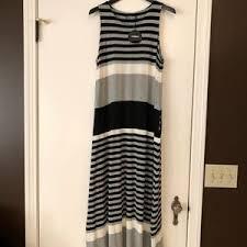 Alembika Size Chart Nwt Alembika Sleeveless Maxi Dress