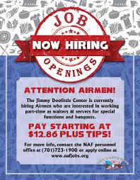 Flyer Jobs Human Resources Naf 5th Force Support Squadron