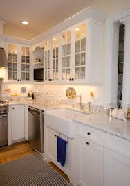 Glass Cabinet Doors Kitchen Kitchen Style White Glass Cabinet Doors Kitchen Design