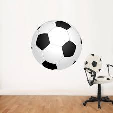 Muurstickers Van Voetballen In Zwart Wit Va 995 Bekijk Deze