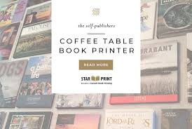 coffee table book printers for the finest quality books