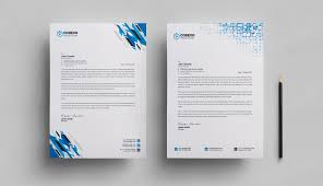 Letterhead Stationary Letterhead Stationery Template 000578 Template Catalog