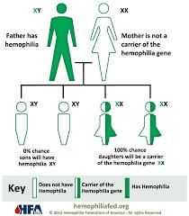 Hemophilia Inheritance Pattern
