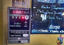 Breathalyzer Vending Machine Reviews Delectable Breathalyzers Installed At Various Jacksonarea Bars MLive