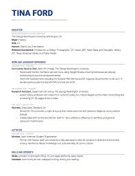 Heres How To Write An Internship Resume Plus A Sample The Muse