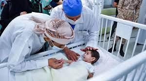 بالفيديو.. لحظة خروج التوأم الطفيلي اليمني بعد نجاح عملية الفصل