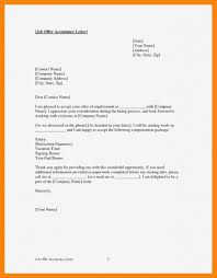 How To Accept A Job Offer Email Sample Letter Accepting Job Offer Valid Free Job Offer Acceptance Letter