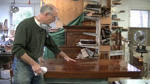 repairing veneer on a midcentury tabletop thomas johnson antique furniture restoration you
